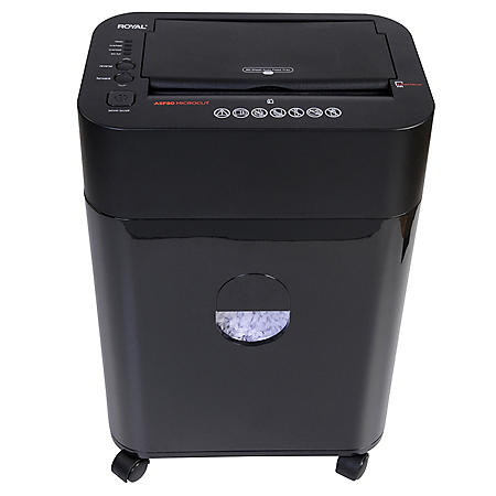 Royal ASF80, Micro-Cut Shredder with 80 Sheet Auto Feed