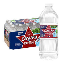 Ozarka 100% Natural Spring Water (20 oz. bottles, 28 pk.)