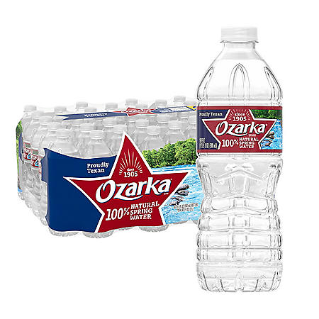 Ozarka 100% Natural Spring Water (16.9oz / 40pk)
