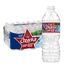 Ozarka 100% Natural Spring Water (16.9 fl. oz. bottles, 40 pk.)