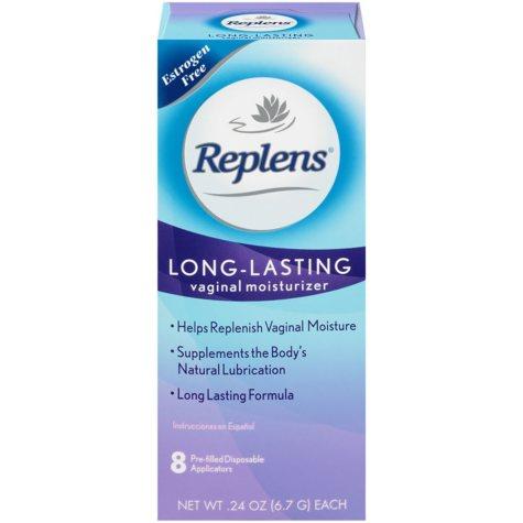 Replens Long-Lasting Vaginal Moisturizer (8 pre-filled applicators)