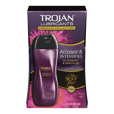 Trojan Arouses & Intensifies Lubricant (3 oz.)
