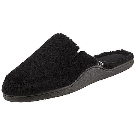Isotoner Men's Microterry Clog With Memory Foam