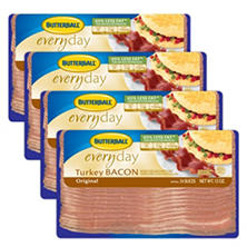 Butterball Turkey Bacon (1 lb. pkg., 3 ct.)