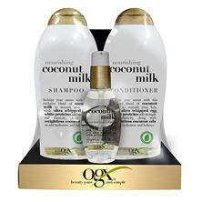 OGX Nourishing Coconut Milk Value Pack