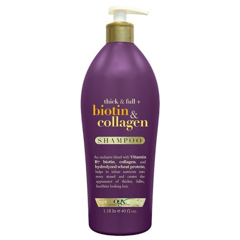 OGX Thick & Full + Biotin & Collagen Shampoo (40 fl. oz.)