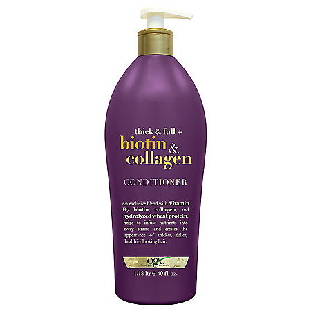 OGX Thick & Full Biotin & Collagen Conditioner (40 fl. oz.)