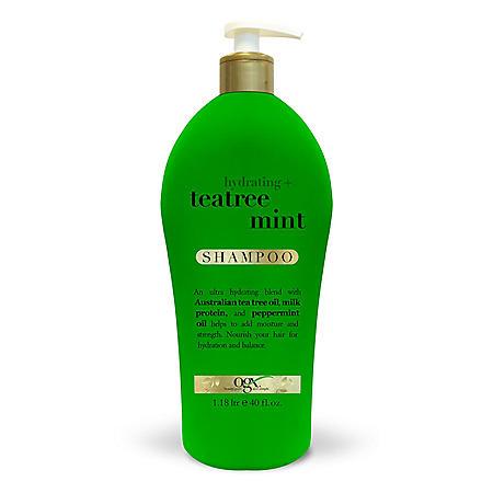 OGX Hydrating + Teatree Mint Shampoo (40 fl. oz.)