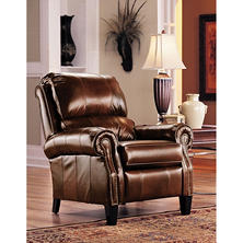 Amazing Lane Furniture Camron Leather High Leg Recliner