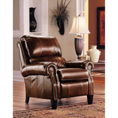 Lane Furniture Camron Leather High Leg Recliner