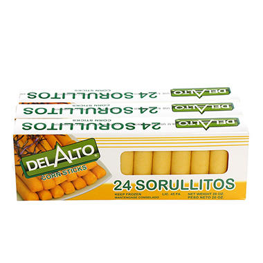 Sorullitos Del Alt 3 Pk/20 Oz 24 Count Each