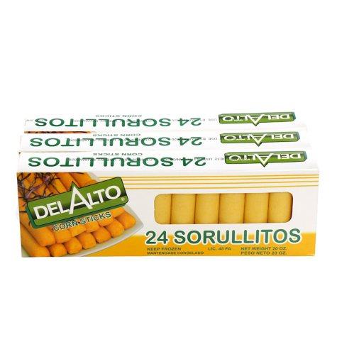 Sorullitos Del Alt 3 Pk/20 Oz 24 Count Each