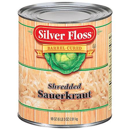Silver Floss Shredded Sauerkraut (99 oz.)