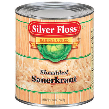 Silver Floss Shredded Sauerkraut - 99 oz.