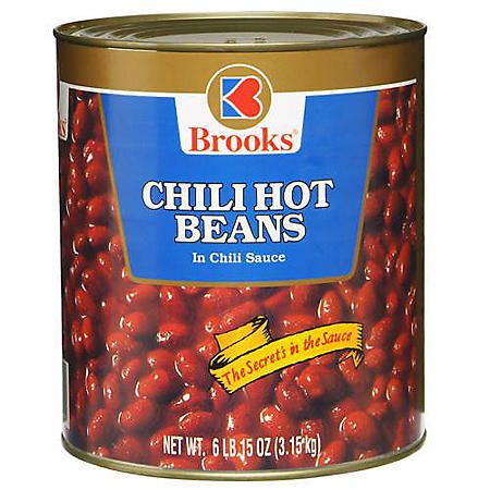 Brooks Chili Hot Beans (6.94 lbs.)