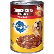 Pedigree Choice Cuts In Gravy with Beef Wet Dog Food (22 oz.)