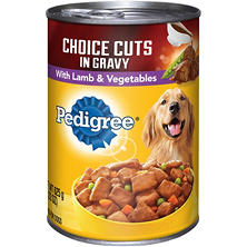 Pedigree Choice Cuts in Gravy with Lamb & Vegetables Wet Dog Food (22 oz.)