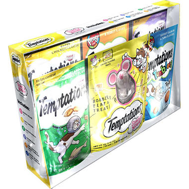 Temptations Snacky Mouse Cat Treats, Variety Pack (3 oz., 5 ct.)