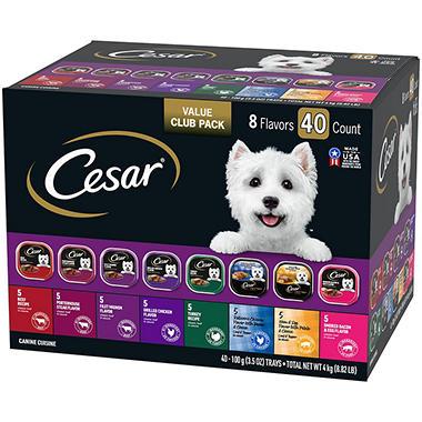 Cesar Canine Cuisine Variety Pack Dog Food