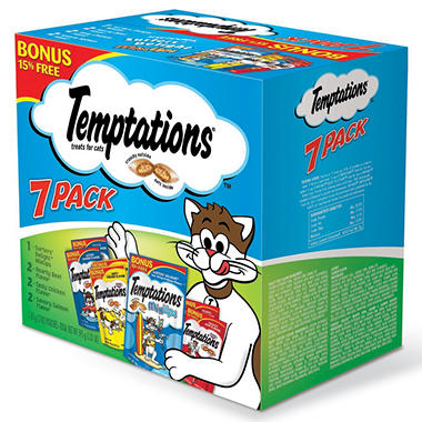 Temptations Cat Snacks - 7/3 oz. bags