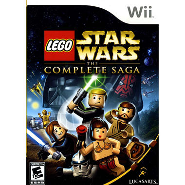 LEGO Star Wars: The Complete Saga - Wii