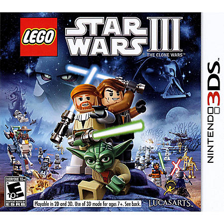 Lego Star Wars 3 Clone Wars - 3DS
