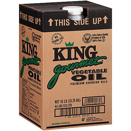 King Gourmet Vegetable Oil - 35 lb.