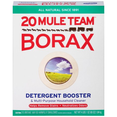 20 Mule Team Borax Detergent Booster & Multipurpose Cleaner (65oz., 6pk.)