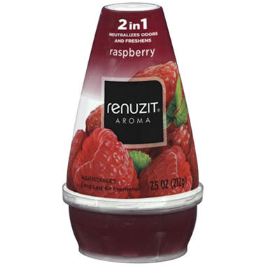 Renuzit Adjustables Raspberry - 9 pk.