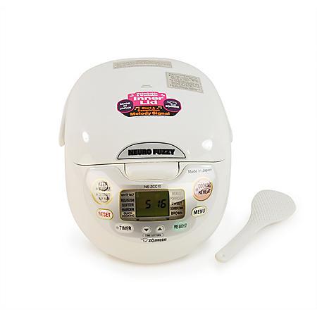 Zojirushi Neuro Fuzzy Rice Cooker and Warmer NS-ZCC10