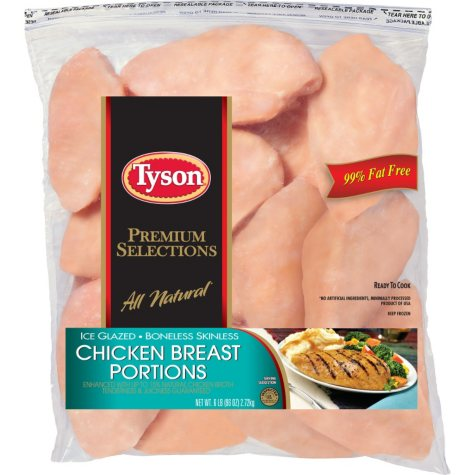 Tyson® Frozen Boneless Skinless Breasts