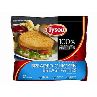 Tyson® Chicken Breast Patties