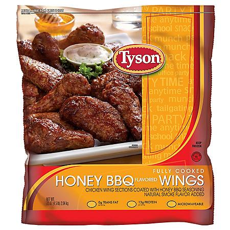 Tyson Honey BBQ Wing 4.5 Lbs