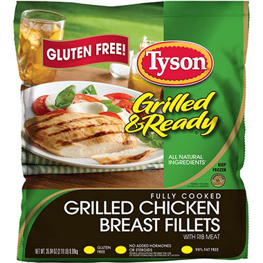 Tyson Grilled Chicken Breast Fillets (35.04 oz.)