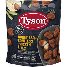 Tyson Honey BBQ Boneless Chicken Wyngz (3.5 lb.)