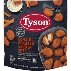 Tyson Buffalo Style Boneless Chicken Wyngz (3.5 lb.)