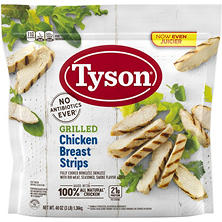 Tyson Grilled and Ready Chicken Breast Strips (3 lb.)
