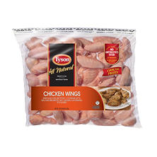 Tyson Uncooked Chicken Wings (10 lbs.)