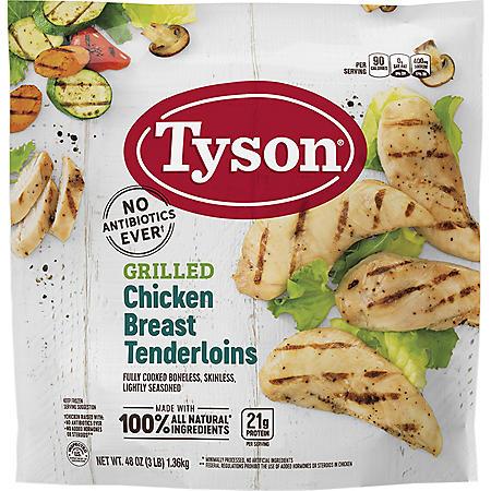Tyson Grilled Chicken Breast Tenderloins (3 lbs.)