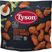Tyson Buffalo Style Hot Wings (5 lbs.)