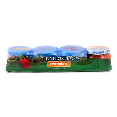 Dromedary Diced Pimientos (4 oz. jar, 4 ct.)