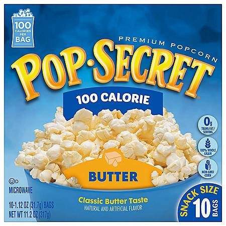 Pop Secret Microwave Popcorn, Butter (1.2 oz. bags, 10 pk.)