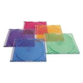 Verbatim CD/DVD Slim Cases - Asst. - 50ct.