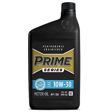Prime Series Conventional Motor Oil SAE 10W-30 (12 pk., 1-qt. bottles)