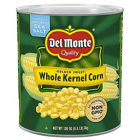 Del Monte Whole Kernel Corn (106 oz.)
