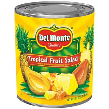 Del Monte Tropical Fruit Salad (107 oz. can)