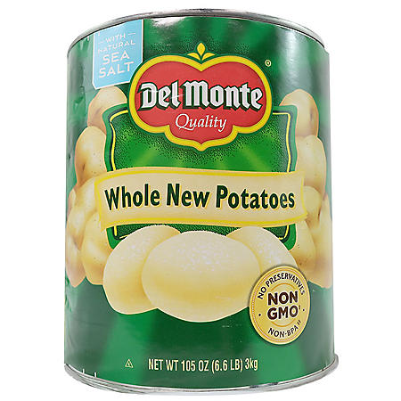 Del Monte Whole New Potatoes (6.6 lb. can)