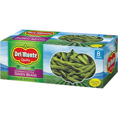 Del Monte French Style Green Beans - 14.5 oz. cans - 8 pk.