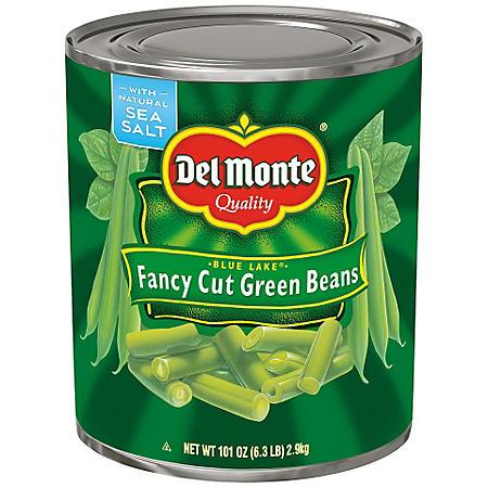 Del Monte Fancy Cut Green Beans (101 oz.)