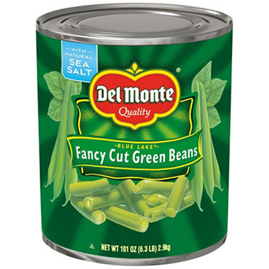 Del Monte Fancy Cut Green Beans 101 Oz Sams Club